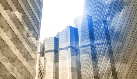 現代ビジネスの構築。アーキテクチャのビジネス ・ コンセプト 写真素材