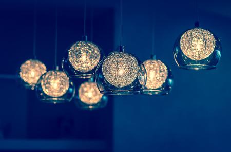 Luxus Lichtdekoration Standard-Bild - 43595066
