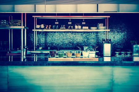 color tone: Luxury kitchen,vintage color tone