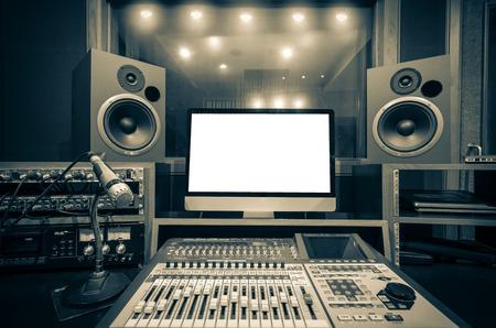 音楽スタジオ 写真素材
