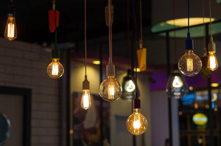 decoratif: l'éclairage de luxe décoration Banque d'images