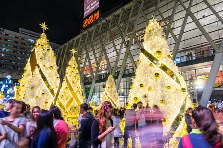 bangkok thailand december 16 2016 light up christmas celebration 2017 with undefined