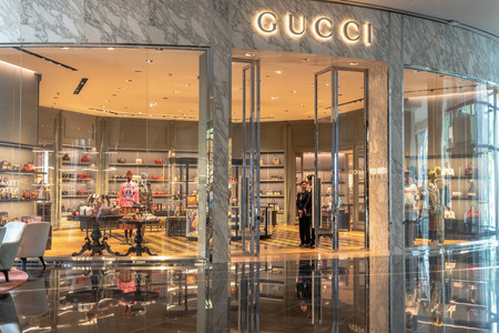 602c5b1ca64 Gucci Stock Photos And Images - 123RF