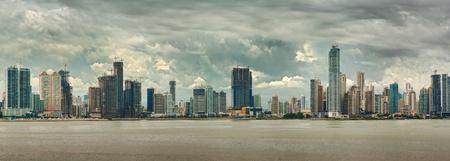 panama city beach: vista della citt� di Panama Archivio Fotografico