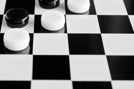 checkers board game background