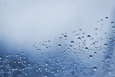 morning dew water drops abstract background