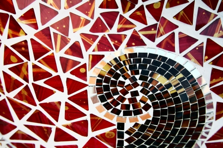 colorful mosaic background photo