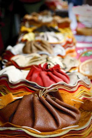 leather market