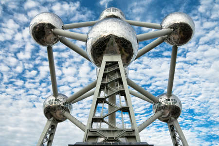 Atomium - the most popular touristic attraction in Brussels
