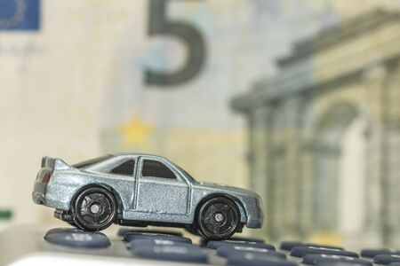 Concept of car insurance or expenses