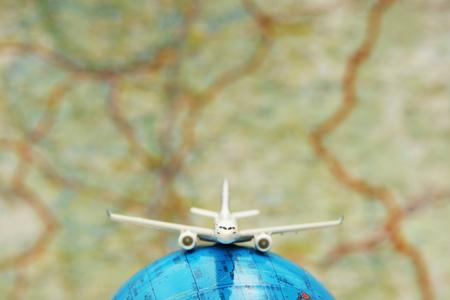 Concept of travel around the world