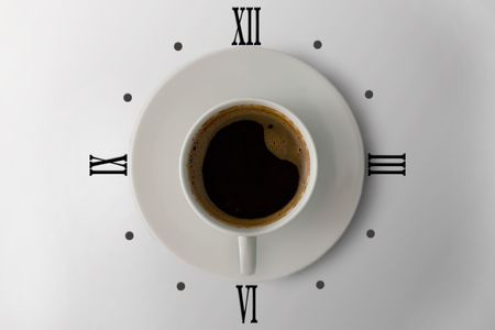 coffee hour: coffe watches 6 oclock in the morning