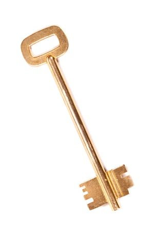 key isolated on white background Stock Photo - 6070112