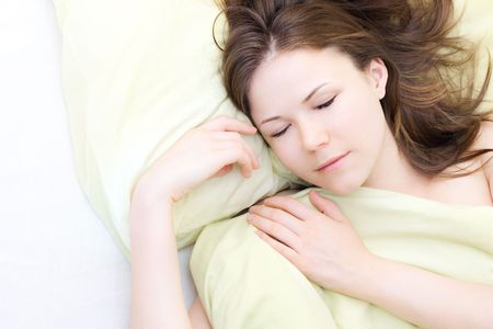 beautiful young woman in her sleep Stock Photo - 6813891