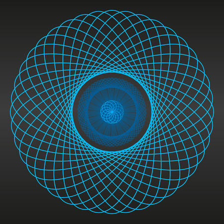 portal: Abstrac backgroundt blue portal Illustration