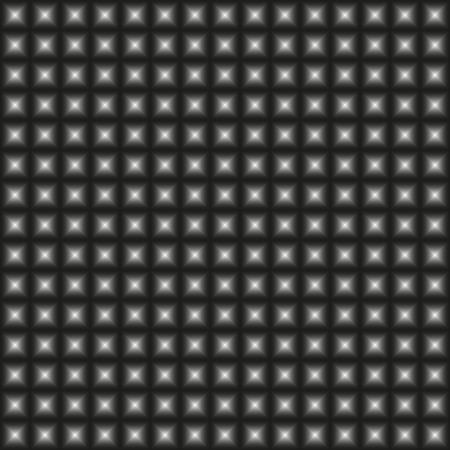 convex: Design monochrome warped geometric pattern, abstract convex textured background - square art Illustration