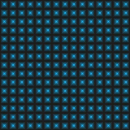 warped: Design blue warped geometric pattern, abstract convex textured background - square art