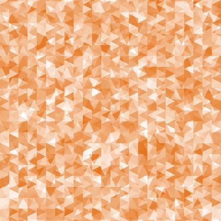 mess: Geometric mess of orange triangles elements