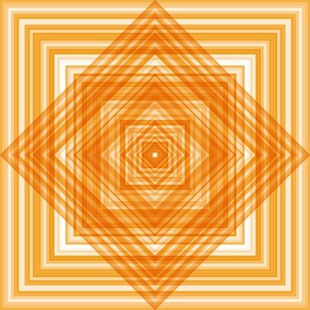 flooring: Abstract square orange pattern, texture flooring, design element Illustration