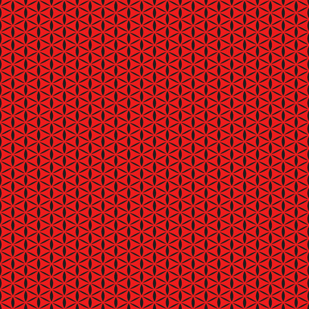 perforation: Red seamless background, abstract geometric perforation Illustration
