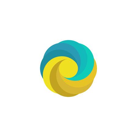 sand: Abstract mockup travel, sand, sun, wave, paradise coast emblem