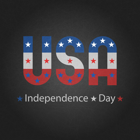 attrition: Independence day of USA grey background for poster, 4th july greeting card mockup