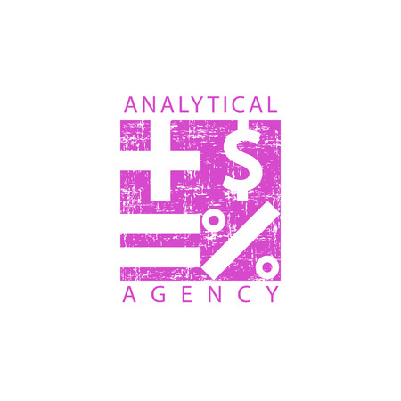 analytical: Logo analytical agency
