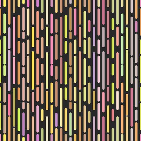 discrete: Hipster broken lines seamless pattern, stylish pop art decoration design element, random colored dash and dot cover mockup