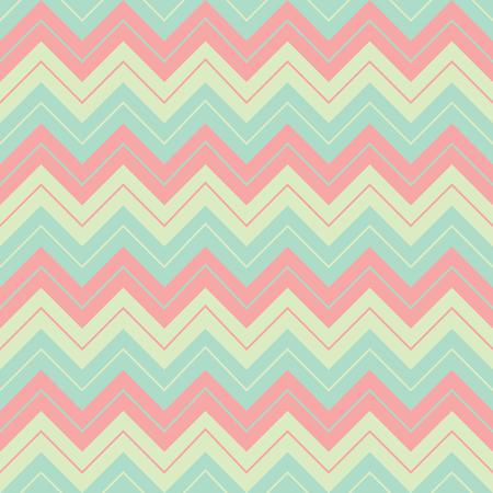 Horizontal geometric soft pastel colors broken lines seamless pattern, sharp corners shape, wrapping mockup