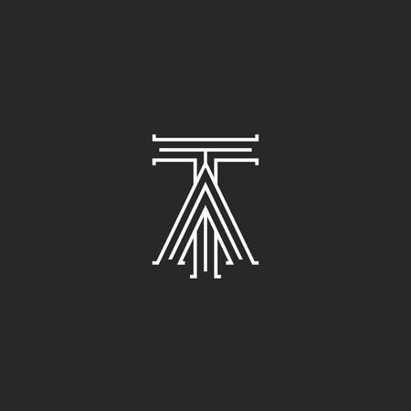Medieval monogram ta logo linked initials t and a capital letters medieval monogram ta logo linked initials t and a capital letters intersection thin lines stylish stopboris Choice Image
