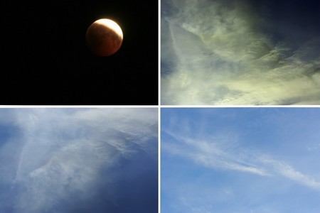 The images of different states of the sky photo