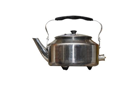 kettle under the white background Stock Photo - 4532176
