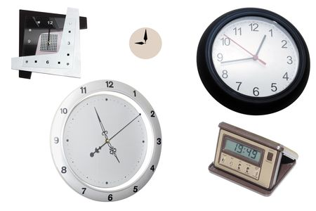 Los diferentes tipos de relojes Foto de archivo - 4609330