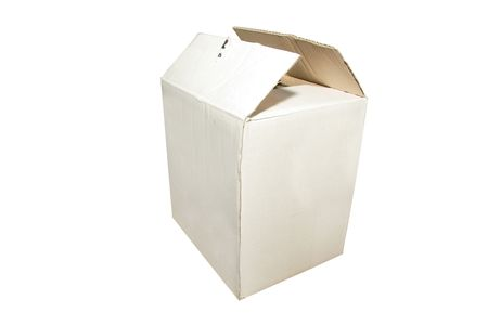 box under the white background Stock Photo - 4844431