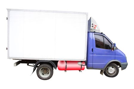 little lorry under the white background Stock Photo - 4904000