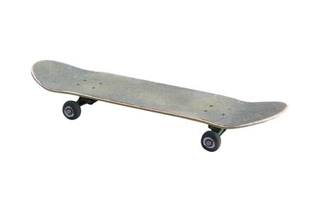 skateboard under the white background Stock Photo - 4927747