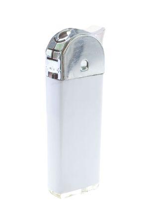 gas lighter: lighter under the white background
