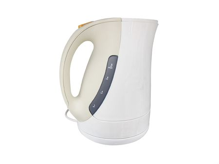 kettle under the white background Stock Photo - 6150112