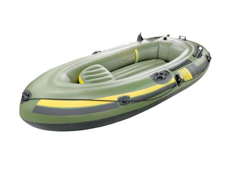 inflatable boat under the white background Stock Photo - 6737332