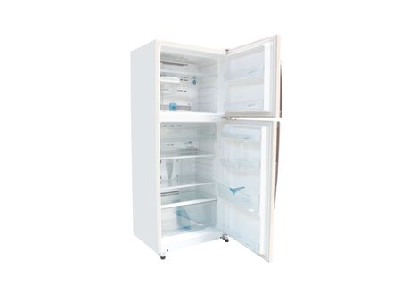 The image of refrigerator under the white background Stock Photo - 6851193