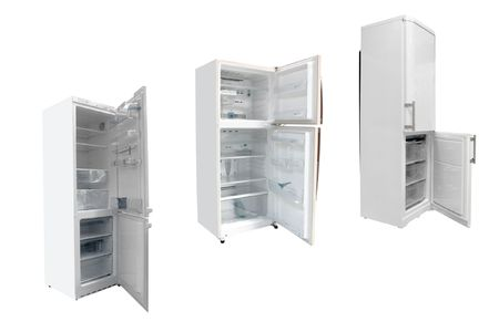 The image of refrigerators under the white background Stock Photo - 6966729