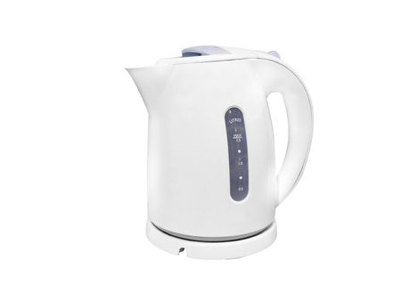The image of kettle under the white background Stock Photo - 6966763