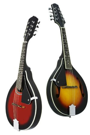 mandolin: The image of mandolin under the white background