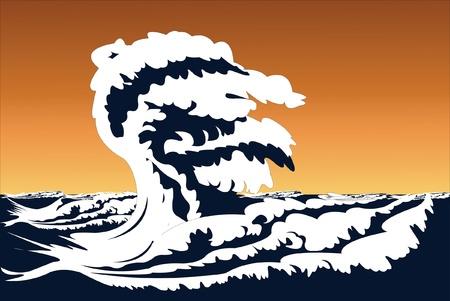 Vector illustration of storm Stock Vector - 9139747