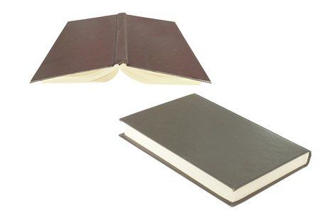 viewpoints: The image of book from the different viewpoints Stock Photo