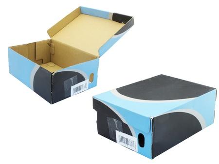 The image of shoe box under the white background Stock Photo - 10456042