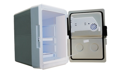 The image of a little car refrigerator Stock Photo - 10837245