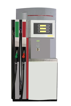 fueling pump: The image of petrol pump under the white background