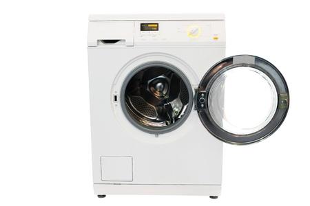 The image of washer under the white background photo