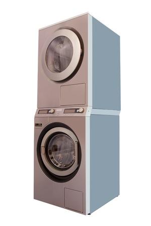 The image of washing machine under the white background Stock Photo - 11484497